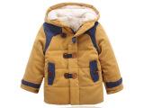 冬装新品 精品童装 男童桃皮绒加厚羊羔毛童棉衣棉袄 儿童棉服
