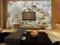 河南电视背景墙价格,中式风格背景墙