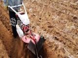供应大马力果园拖拉机械 四轮拖拉机旋耕机 多功能果园开沟机