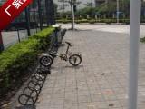 螺旋式自行车停车架碳素钢材质防锈