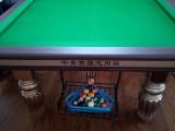 台球桌实体店面 台球桌厂家销售仿星牌 仿乔氏台球桌
