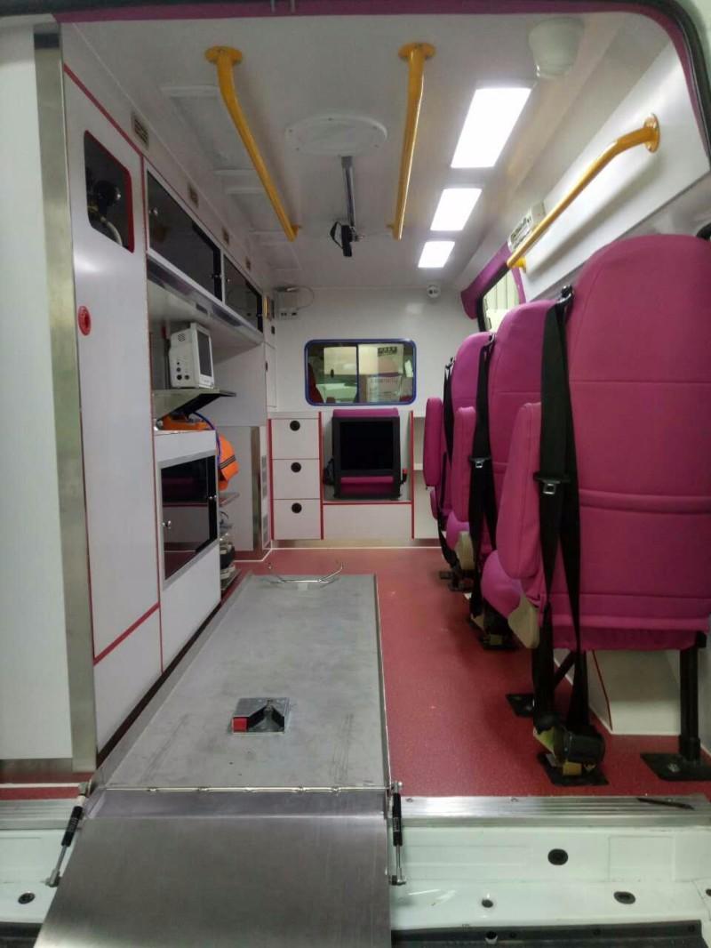 惠州中医院人民医院中心医院病人转院出入院请120救护车出租