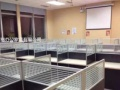 打造办工至尊环境办公位电销工位隔断工位呼叫中心工位