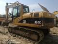 二手挖掘机卡特320C低价出售 包运
