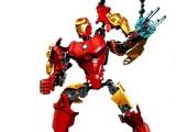 DIY得高正品超级英雄拼装积木益智组装玩具复仇者联盟 6005钢