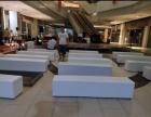 北京白色沙發墩租賃 大量長條沙發 優質沙發租賃