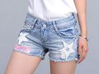 2015夏季新款薄款牛仔短裤 女装时尚修身显瘦韩版大码牛仔短裤