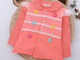 2015春款童装 新品春季童装 女童外套 韩版6朵花童外套 品牌