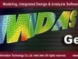迈达斯midas gen 建筑结构分析软件 带加密狗