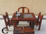 厂家直销老船木家具功夫茶台简约阳台小茶桌茶水柜