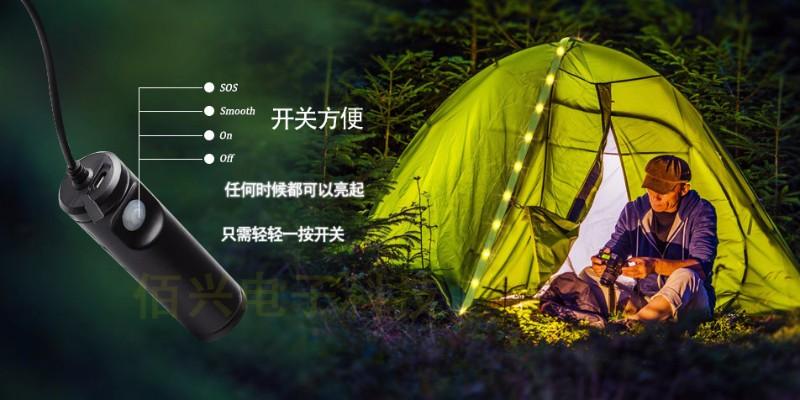 佰兴户外露营帐篷灯,给您带来美妙的帐篷体验