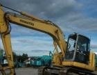 出售小松128US-8进口二手挖掘机2015年报关