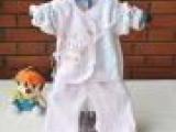 2013夏秋装新款宝宝婴儿和服/珊迪王子/喜儿贝仔二件套婴服批发