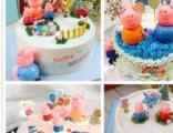 各种生日蛋糕千层卡通个性网红蛋糕私人订制