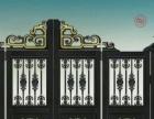 围栏护栏 伸缩门 直线门 庭院门 铜门 公司大门