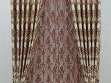 批发零剪别墅复式加高窗帘 高档高精密色织提花窗帘欧式窗帘布