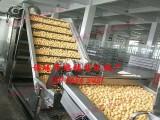 豆泡油炸机 连续豆干油炸生产线价格 鹏福特鱼豆腐油炸机厂家