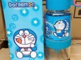 叮当猫卡通机器猫儿童柠檬水杯 哆啦a梦可爱吸管杯 青蛙王子现货