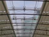 建國門陽光房遮陽簾陽光房天棚簾玻璃頂室室內外電動天幕棚