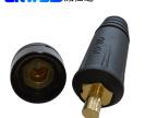 电焊机快速接头欧式DKJA电缆焊接接头 铜欧式快速插拔