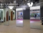 西安厂家舞蹈教室镜面移动隔断专业定制