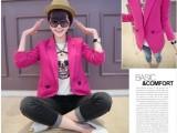 小蚊子女装系列韩版优雅假口袋长袖小西装现货批发定制加工招代理