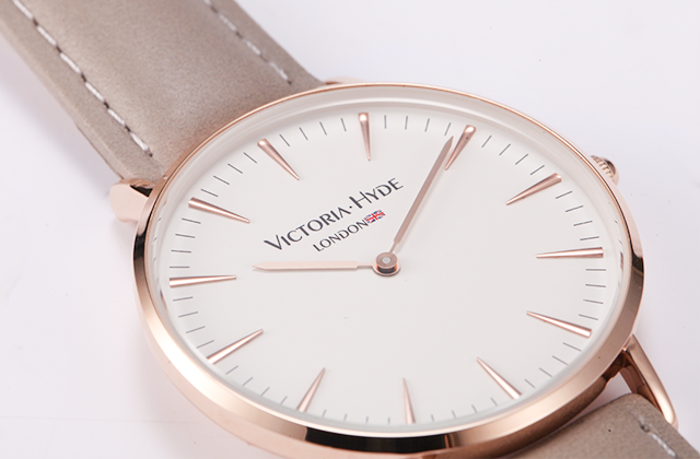 VH London手表中性系列刚柔并济