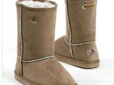 韩国品牌童鞋批发棉鞋 雪地靴 麂皮绒中筒靴 儿童高帮鞋