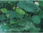 当代画家吴冠中字画拍卖成交实价三千多万