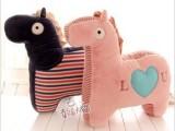 正版metoo咪兔可爱创意小木马毛绒玩具公仔 办公室大靠垫抱枕