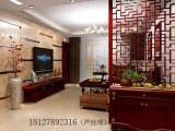 广州好的鞋柜雕花板 新中式隔断柜 客厅玄关鞋柜屏风品牌厂家