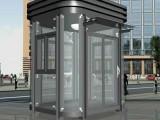 厂家直销户外防腐环保钢结构移动岗亭定做简易不锈钢安