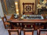肇庆茶台茶桌椅组合老船木客厅阳台功夫茶艺桌茶几茶台