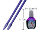 弘羌**凹槽练字板 配套练字用魔笔 2支魔笔配套墨水  紫色