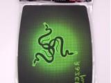 批发 H-3绿底雷蛇.微软.锁边彩垫图案多样随机搭配