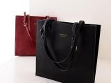 秋冬新款女包批发简约复古风文件袋公文包气质OL手提包包一件代发