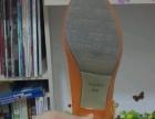 炫彩橘色230码女鞋