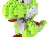 俐智loz小颗粒钻石拼装儿童玩具创意拼装9331耀西乐高式积木创