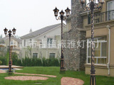 欧式高档庭院灯具户外景观灯室外草坪灯高杆灯别墅小区花园灯防水