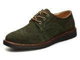 厂家直销 秋季新款圆头低帮男鞋休闲鞋真皮工装鞋头层真皮男皮鞋