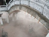 南充喷雾公司景观喷雾喷淋降温降尘设备免费设计