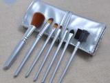 凯诺化妆刷批发7支化妆刷套装绑带化妆刷包美妆工具