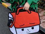 现货厂家直销 台湾二次元漫画包3D立体效果单肩包斜挎包韩版女包