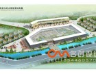 宁波专业效果图制作 建筑鸟瞰图表现 建筑规划效果图设计