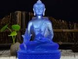 广州琉璃佛像厂家琉璃药师佛琉璃藏传琉璃佛像送子观音佛像