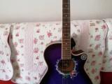 思凱紫色民謠吉他