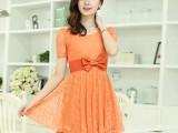 2014春季新款显瘦连衣裙代理加盟 韩版品牌女装代购 女装代理加