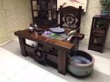 厂家直销船木中式功夫茶台客厅阳台喝茶桌茶艺桌