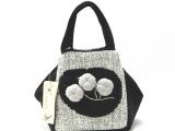 生产批发 美伊B194-1 云南民族风品牌女包 手工布艺麻布手提包