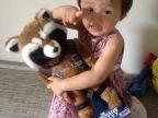 [库存玩具]美国正版 银河护卫队 火箭浣熊 毛绒玩具
